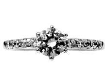 Pt900 ダイヤモンド婚約指輪 デザインNo.B0889、画像3