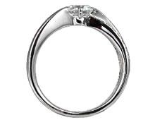 Pt900 ダイヤモンド婚約指輪 デザインNo.C2689、画像2