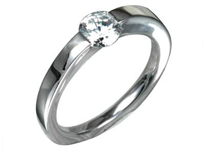 Pt900 ダイヤモンド婚約指輪 デザインNo.C2901、画像1