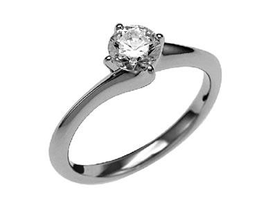 Pt900 ダイヤモンド婚約指輪 デザインNo.C3154、画像1