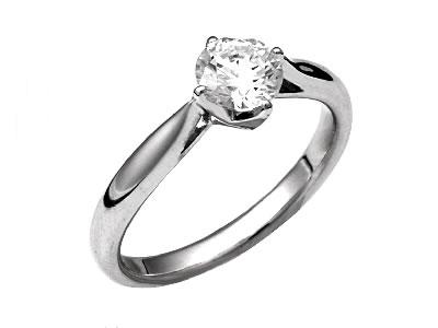Pt900 ダイヤモンド婚約指輪 デザインNo.C3241、画像1