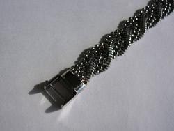 修理例:K18 ブレスレット 留め金具の取替え、仕上げ無しで。修理後