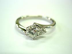 ダイヤモンド婚約指輪リフォーム希望