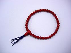 念珠(数珠)ブレスレットの修理