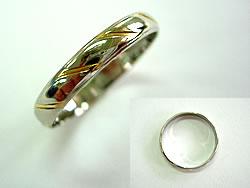 修理例:Pt900/k18結婚指輪