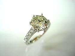 Pt900 ダイヤモンド1.5ctリングのリフォーム希望