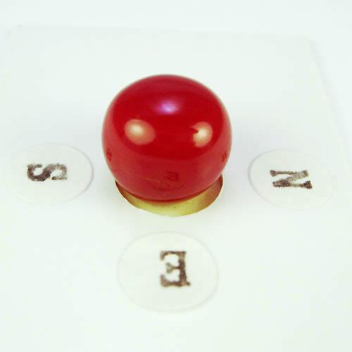 血赤珊瑚 11.5mmラウンド ジュエリールース ad204 画像
