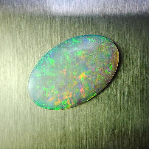 オパール 2.41ct (ウォーター系 赤斑) ジュエリールース ad337 画像