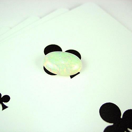 オパール  2.40ct 赤・グリーン斑  ジュエリールース ad615 画像