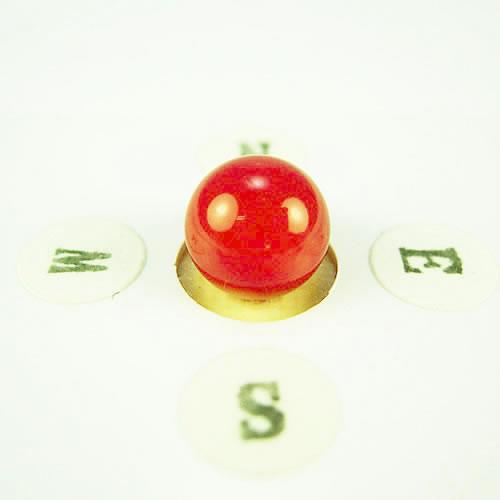 血赤珊瑚 8.6mm ラウンド  ジュエリールース ad745