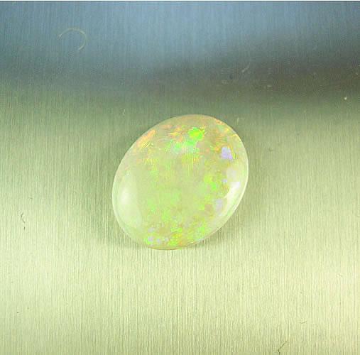 オパール 2.25ct 赤斑 ジュエリールース ad795 画像