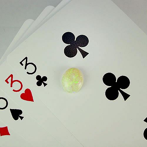 オパール 2.34ct 青系美斑 ジュエリールース ad821 画像
