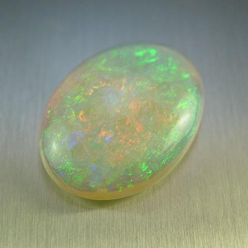 オパール  3.91ct 強ネオン斑 ジュエリールース bd489 画像