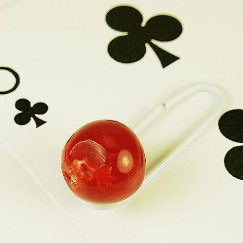 血赤珊瑚  11.5mm ラウンド  ジュエリールース bd556 画像
