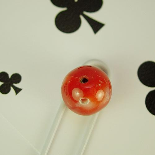 血赤珊瑚 10mm ラウンド ジュエリールース bd605 画像