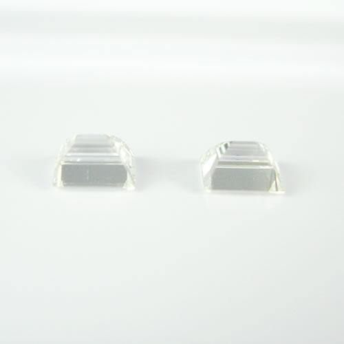 ダイヤ 0.416ctペア F・VS-1・2  バケットカット ジュエリールース db101 画像