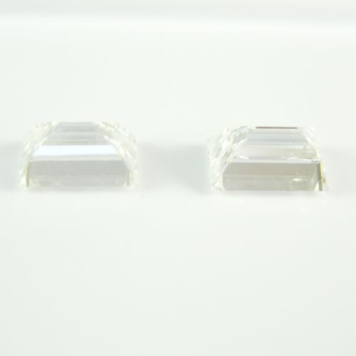 ダイヤ 0.751ctペア D・E.VS-1・2  バケットカット ジュエリールース db104 画像