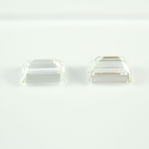 ダイヤ 0.945ctペア E・F.VS-1  バケットカット ジュエリールース db106 画像