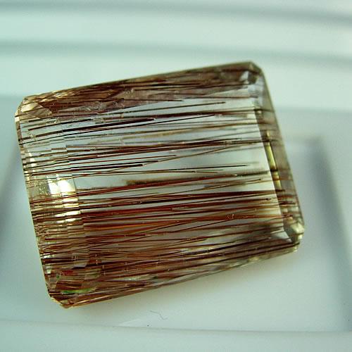 大粒 ルチルクォーツ 43.09ct ジュエリールース df536 画像