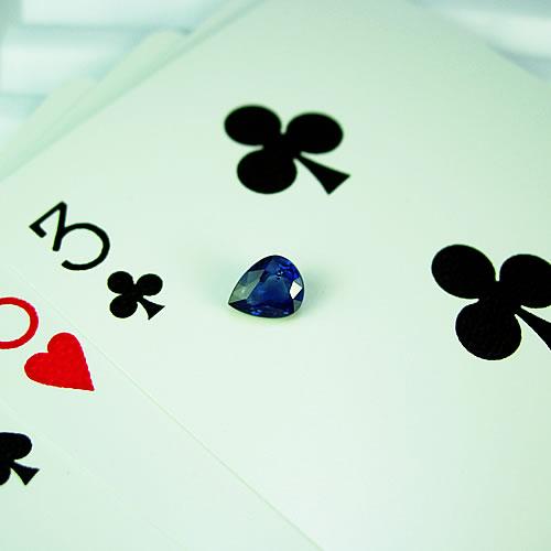 ブルーサファイア 1.06ct PS ジュエリールース df659 画像