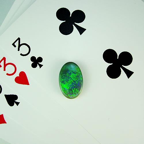 ブラックオパール 3.26ct ジュエリールース df875 画像