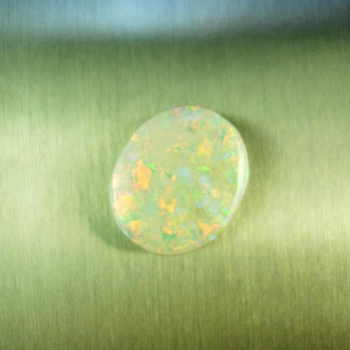 オパール 1.54ct 赤斑 ジュエリールース df880 画像