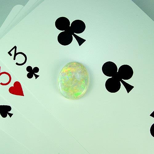 オパール 3.57ct 優美斑 ジュエリールース df883 画像