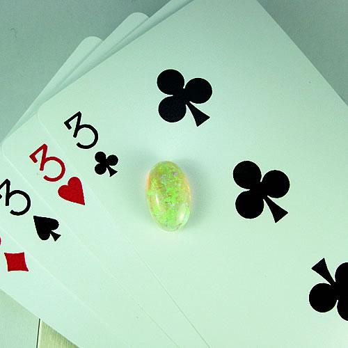 オパール 4.60ct 秀美斑 ジュエリールース df884 画像