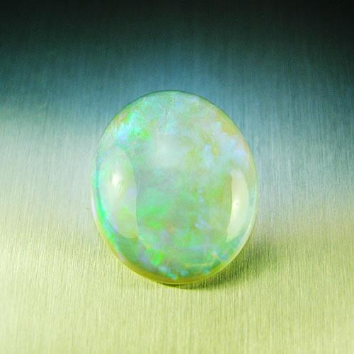 オパール 4.55ct グリーン斑 ジュエリールース df887