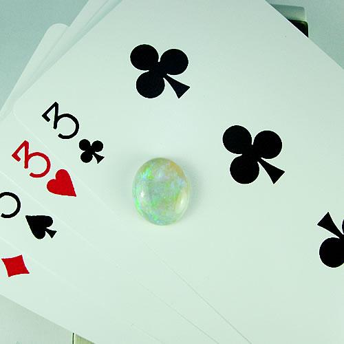 オパール 4.55ct グリーン斑 ジュエリールース df887 画像