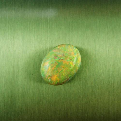 セミブラックオパール 2.44ct 強斑  ジュエリールース dg103 画像