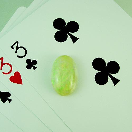 オパール 8.41ct グリーン斑 ジュエリールース dg108 画像
