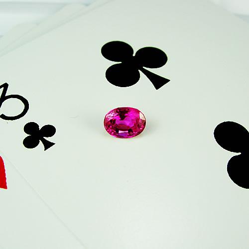 ピンクサファイア 0.98ct ジュエリールース dg125 画像