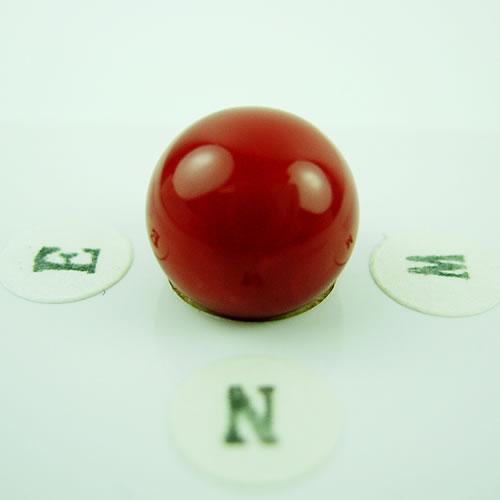 血赤珊瑚 11.5mm ラウンド  ジュエリールース dg137 画像