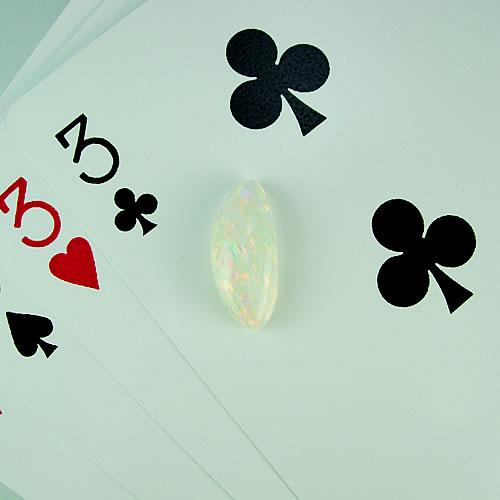 オパール 2.43ct 赤斑 ジュエリールース dg309 画像