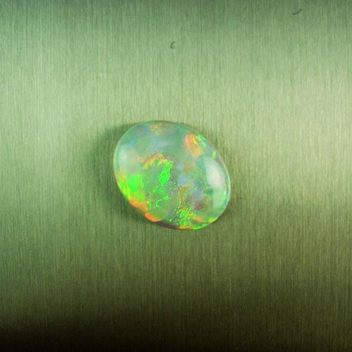 オパール 1.37ct 赤斑 ジュエリールース dg310 画像