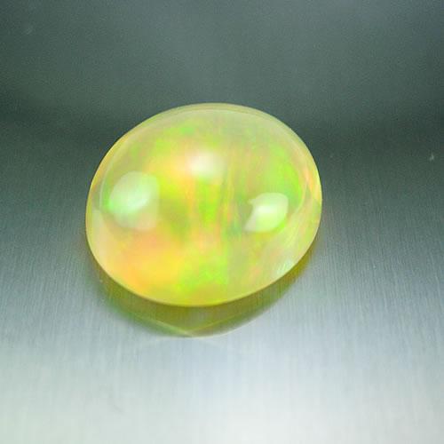 大粒メキシコオパール 7.20ct 全面美斑 ジュエリールース dg354