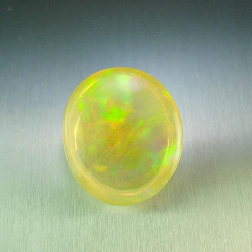 大粒メキシコオパール 7.20ct 全面美斑 ジュエリールース dg354 画像