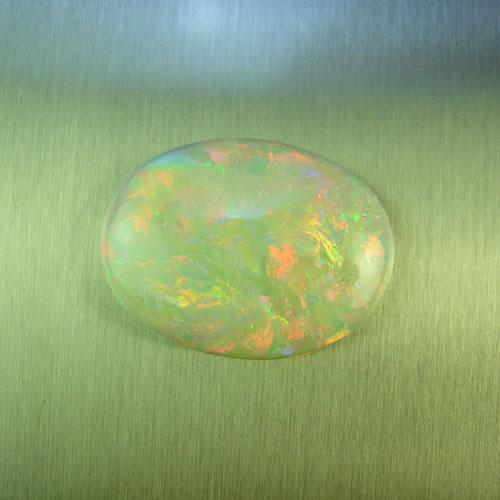 オパール 3.69ct 赤斑 ジュエリールース dg542