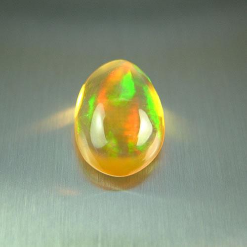 メキシコオパール 1.78ct オレンジ斑 ジュエリールース dg578