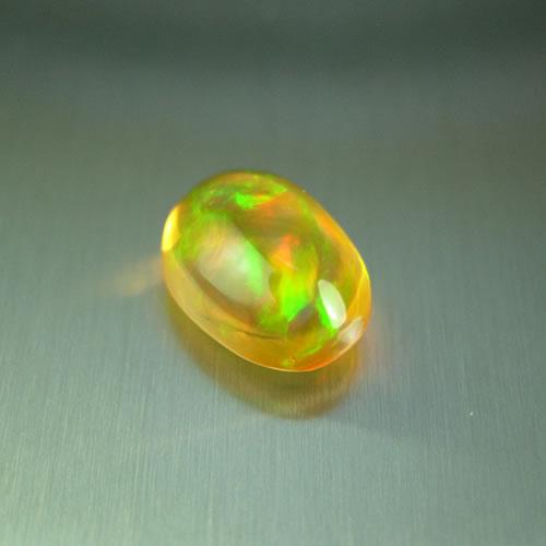メキシコオパール 1.78ct オレンジ斑 ジュエリールース dg578 画像