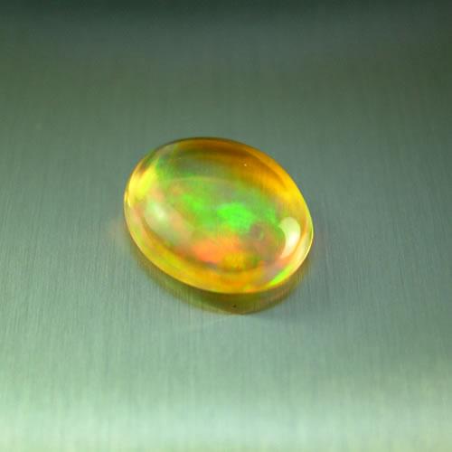 メキシコオパール 1.31ct オレンジ斑 ジュエリールース dg579 画像