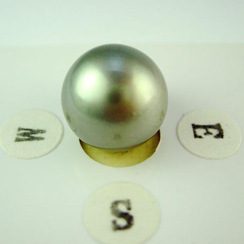 タヒチパール 12.1mm ラウンド ジュエリールース dg584