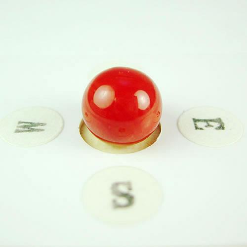 血赤珊瑚 9.3mm ラウンド ジュエリールース dg614
