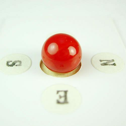 血赤珊瑚 9.3mm ラウンド ジュエリールース dg614 画像