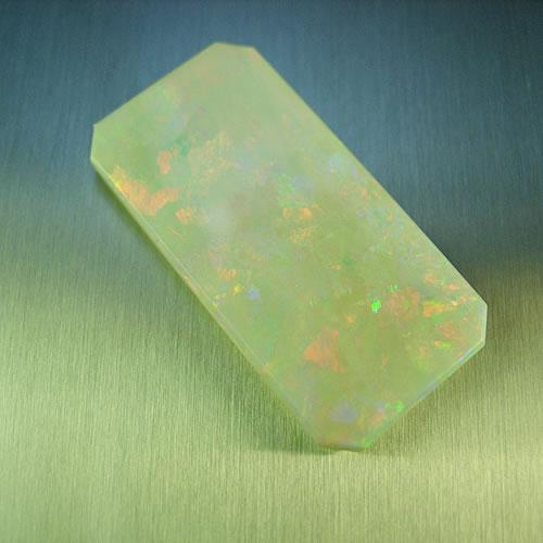 大粒オパール 9.50ct  角板 ジュエリールース dg646 画像