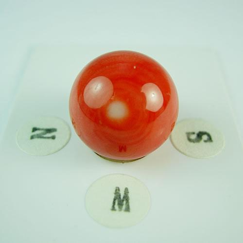 桃珊瑚 14.5mm ラウンド ジュエリールース dg650 画像