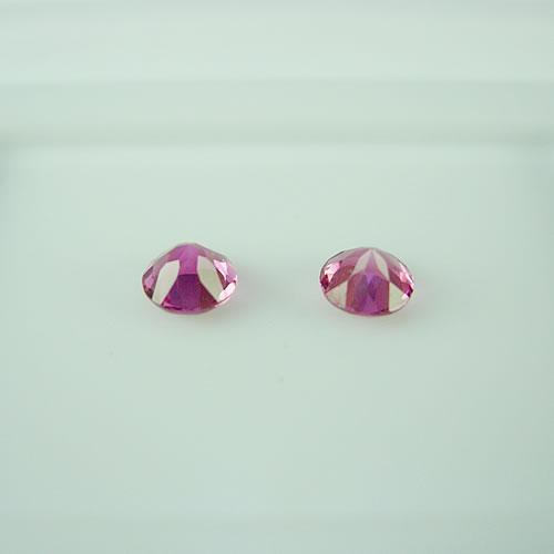ピンクトルマリン ペア 4.5mm 0.70ct ジュエリールース dg700 画像