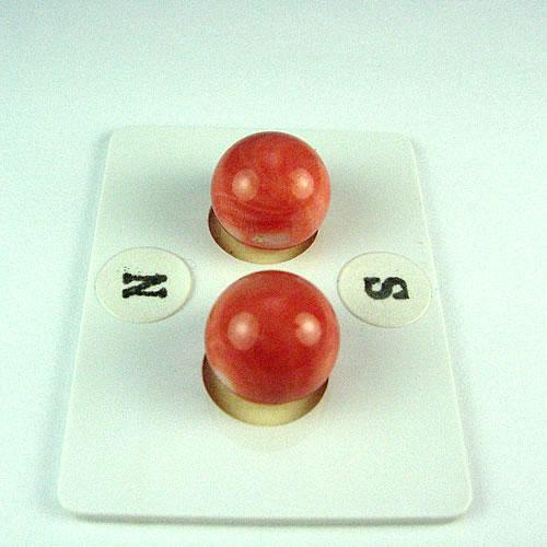 桃色珊瑚 10mm丸玉ペア ジュエリールース dg805 画像