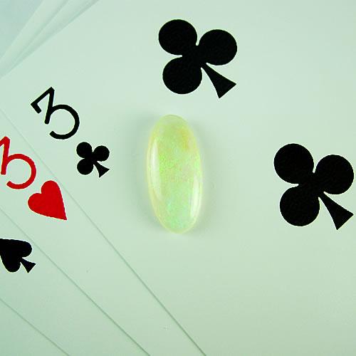 オパール 2.89ct グリーン斑 ジュエリールース dg868 画像